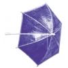 Plastic Parasol Clear